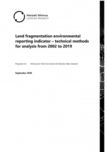 land fragmentation report cover